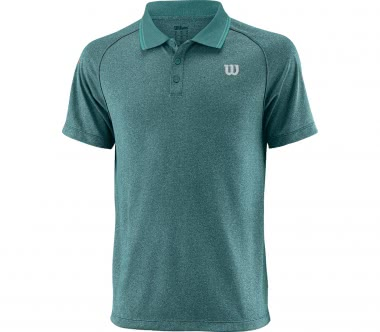 Wilson - Core men's tennis polo top (green)