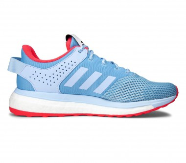 Adidas - Response 3 women's running shoes (light blue/red)