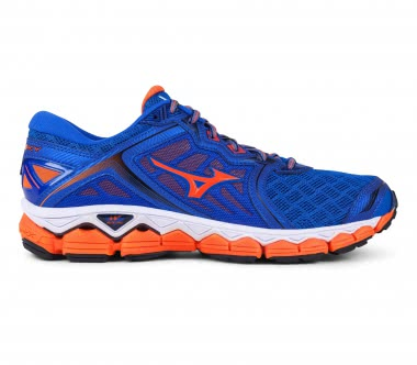 Mizuno - Wave Sky men's running shoes (blue/orange)