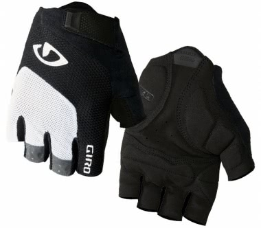 Giro - Bravo Gel men's Bike Glove (white/black)