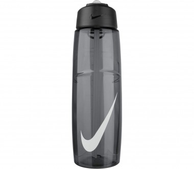 Nike - T1 Flow Swoosh bottle 946ml (dark grey/white)