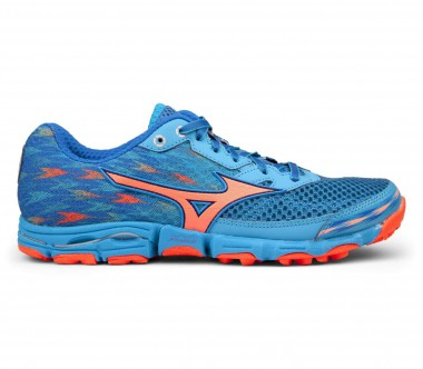 Mizuno - Wave Hayate 2 women's running shoes (turquoise/orange)