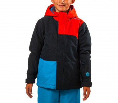 Ziener - Almin Children ski jacket (blue/orange)