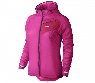 Nike - Impossibly Light women's running jacket (pink/red)