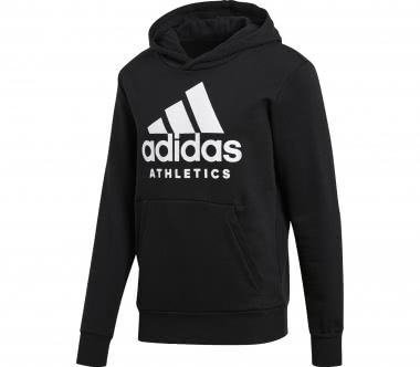 Adidas - Sport ID Branded P/O men's training hoodie (black)