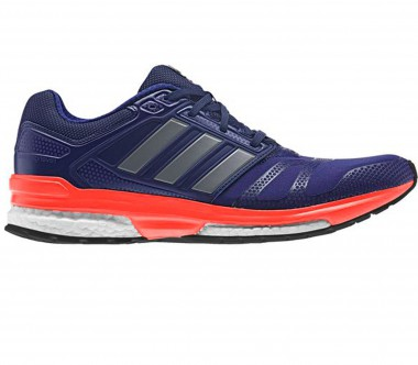 Adidas - Revenge Boost 2 Techfit men's running shoes (violet)