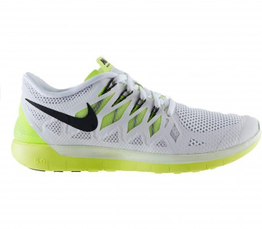 Nike - Free 5.0 men's running shoes (white/green)
