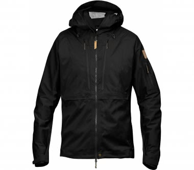 Fjällräven - Keb Eco-Shell men's hard shell jacket (black)