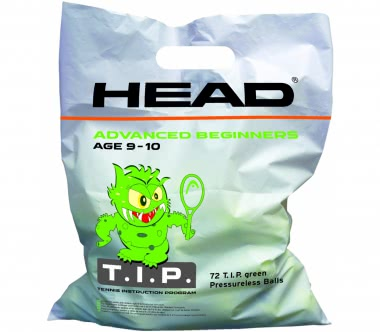 Head - 72B TIP Polybag Tennisbälle (green)