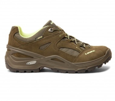 Lowa - Sirkos GTX women's hiking shoes (dark green/brown)