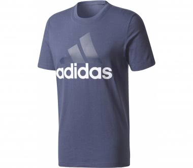 Adidas - Essential Linear men's training top (blue/white)