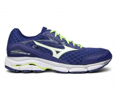 Mizuno - Wave Inspire 12 men's running shoes (blue-yellow)