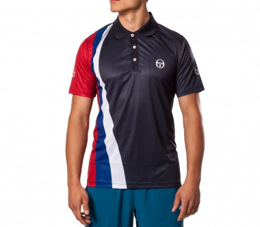 Sergio Tacchini - Novak Djokovic Largeace Polo blue - SS12 - Tennis - Tennis Cloth - Men