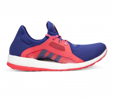 Adidas - Pureboost X women's running shoes (violet/red)