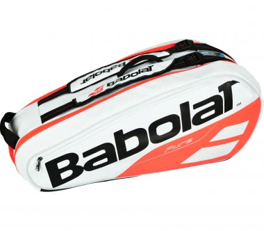 Babolat - Pure Racket Holder X6 Sac de Tennis (blanc/rouge)