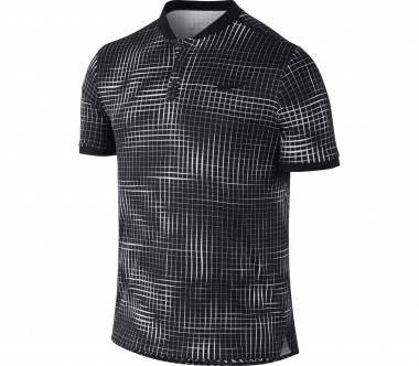 Nike - Court Advantage men's tennis polo shirt (black/grey)