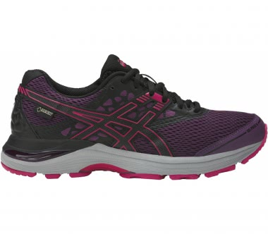 Asics - Gel-Pulse 9 G-TX women's running shoes (dark red/black)