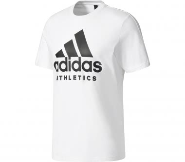 Adidas - Sport ID Branded men's training top (white)
