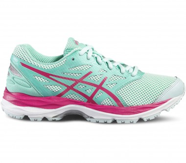 Asics - Gel-Cumulus 18 GS Children running shoes (blue/pink)