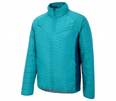 Ziener - Theo Primaloft men's skis jacket (dark blue/turquoise)