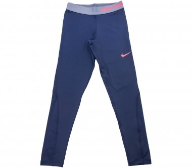 Nike - Pro Children training pants (blue)