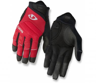 Giro - Xen men's Bike Glove (red/black/grey)