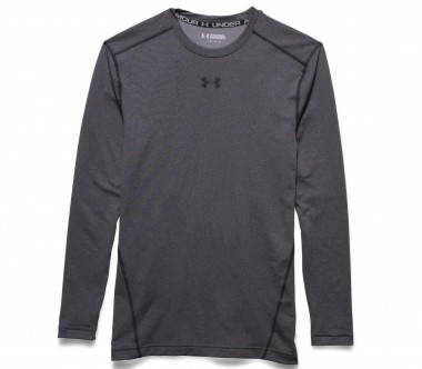 Under Armour - Coldgear Armour Crew men's training top (grey/black)