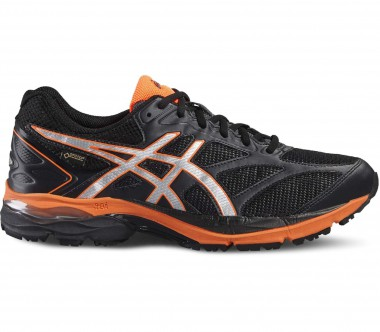 Asics - Gel-Pulse 8 G-TX men's running shoes (black/orange)