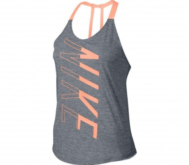 Nike - Dry women's training tank top top (grey/coral)