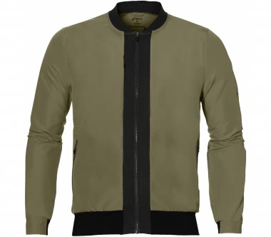 ASICS - FuzeX men's running jacket (khaki)