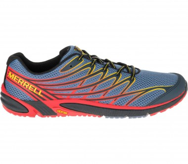 Merrell - Bare Access 4 men's trail running shoes (grey/red)