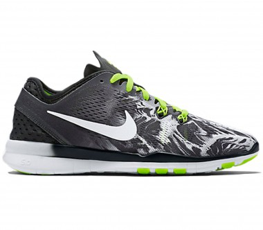 Nike - Free 5.0 TR Fit 5 Print women's training shoes (black/wess)
