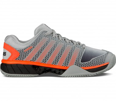 K-Swiss - Hypercourt Express HB men's tennis shoes (grey/orange)