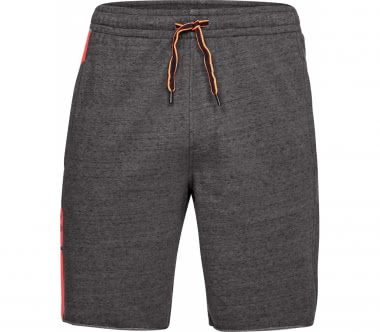 Under Armour - EZ Knit men's training shorts (grey/red)