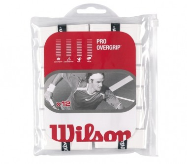Wilson - Pro Overgrip - 12 pp - Tennis - Tennis Accessories