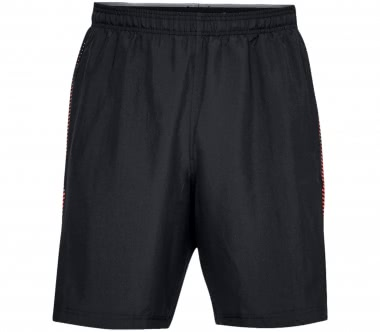 Under Armour - Woven Graphic men's training shorts (black/red)