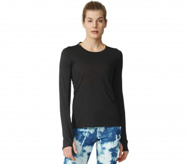 Adidas - Supernova long-sleeved women's running top (black)