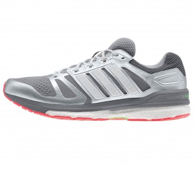 Adidas - Ultra Boost men's running shoes (silver/grey