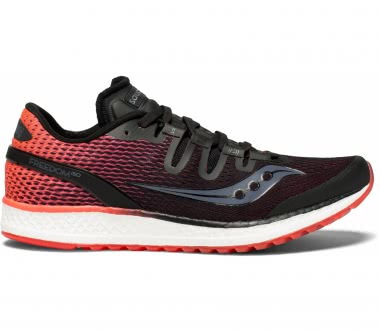 Saucony - Freedom ISO women's running shoes (black/red)