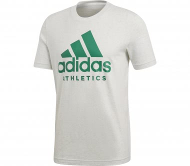 Adidas - SID Branded men's training top (white/green)