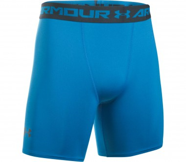 Under Armour - Heatgear Armour men's compression shorts (blue/grey)