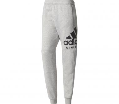Adidas - Sport ID Branded Tapered fleece men's training pants (grey)