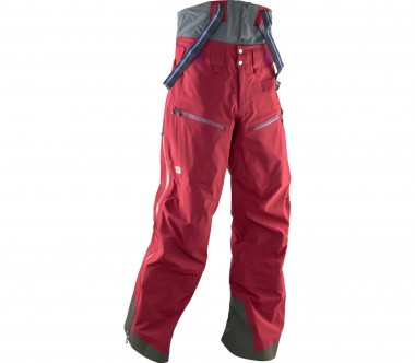 State of Elevenate - Bec de Rosses men's ski pants (red/grey)