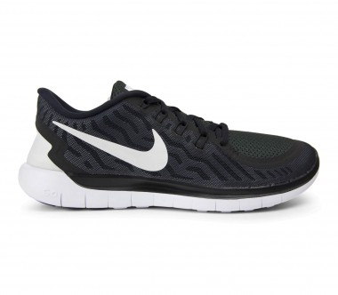 Nike - Free 5.0 men's running shoes (black/white)