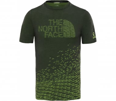 The North Face - Flight Logo Seamless men's training top (black/yellow)
