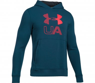 Under Armour - Threadborne Graphic men's training sweatshirt (blue-red)