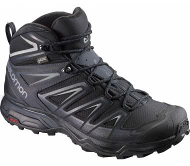 Salomon - X Ultra 3 Mid GTX® men\'s hiking shoes (black)