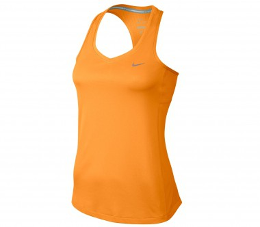 Nike - Miler tank top women's running top (orange)