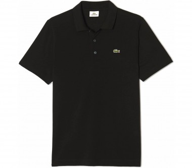 Lacoste - men's tennis polo top (black)