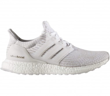 Adidas - Ultra Boost women's running shoes (white/grey)